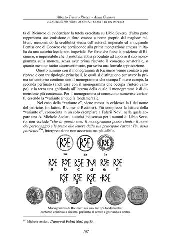 A. Trivero - A. Gennari, Ex Nummis Historia: Agonia e morte di un impero. Agonia%20107
