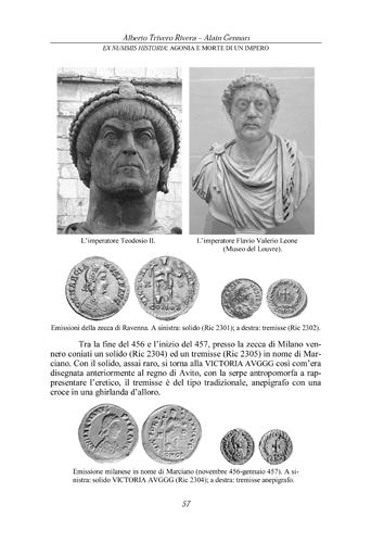 A. Trivero - A. Gennari, Ex Nummis Historia: Agonia e morte di un impero. Agonia%2057